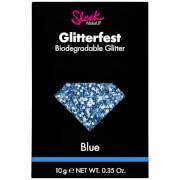 Sleek MakeUP Glitterfest Biodegradable Glitter -kimalle, Blue 10g
