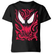 Venom Carnage Kids' T-Shirt - Black