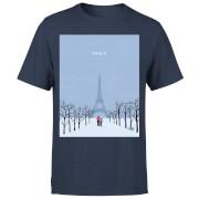 Paris Men's T-Shirt - Navy