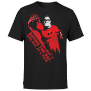 Incredibles 2 Saving The Day Men's T-Shirt - Black