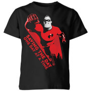 Incredibles 2 Saving The Day Kids' T-Shirt - Black