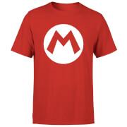 Nintendo Mario Logo Herren T-Shirt - Rot