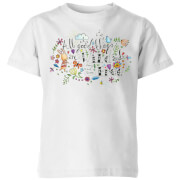 All Good Things Are Wild And Free Kids' T-Shirt - White