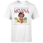 Moana Born In The Ocean Men's T-Shirt - White