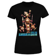 Moana Fear The Kakamora Women's T-Shirt - Black