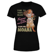Moana Natural Born Navigator Women's T-Shirt - Black
