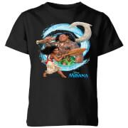 Moana Wave Kids' T-Shirt - Black