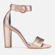 Ted Baker Women's Secoal Block Heeled Sandals - Rose Gold