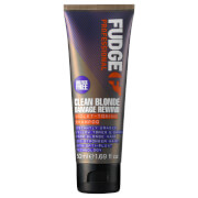 Fudge Clean Blonde Damage Rewind Shampoo 50ml