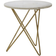 Fifty Five South Nirav Table - White Marble Top