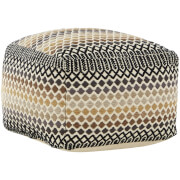 Premier Housewares Bosie Inca Pouffe - Cotton Cover
