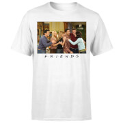 Friends Cast Shot Herren T-Shirt - Weiß