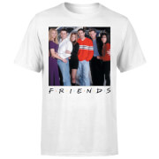 Friends Cast Pose Herren T-Shirt - Weiß