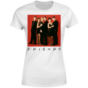 Friends Character Pose Damen T-Shirt - Weiß