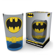 DC Comics Batman Costume Wrap Large Glass