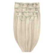 Beauty Works Double Hair Set 18 Inch Clip-In Hair Extensions - #613/18A Iced Blonde