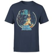 Star Wars Classic Vintage Victory Herren T-Shirt - Navy Blau