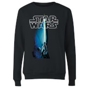 Star Wars Classic Lightsaber Damen Pullover - Schwarz