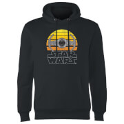 Star Wars Sunset Tie Hoodie - Black