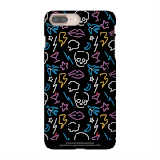 Celebrity Big Brother Neon Pattern Phone Case for iPhone and Android