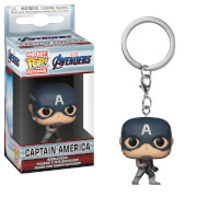 Marvel Avengers: Endgame Captain America Pop! Keychain