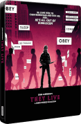 They Live 4K Ultra HD & Blu-ray Zavvi Exclusive Steelbook