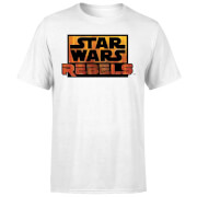Star Wars Rebels Logo Men's T-Shirt - White