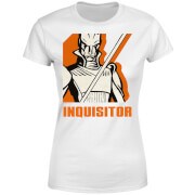 T-Shirt Femme Inquisitor Star Wars Rebels - Blanc