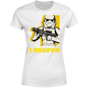 Star Wars Rebels Trooper Women's T-Shirt - White