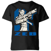 Star Wars Rebels Zeb Kids' T-Shirt - Black