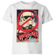 Star Wars Rebels Poster Kids' T-Shirt - White