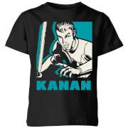 Star Wars Rebels Kanan Kids' T-Shirt - Black