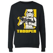 Star Wars Rebels Trooper Women's Sweatshirt - Black