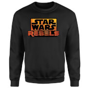Star Wars Rebels Logo Pullover - Schwarz