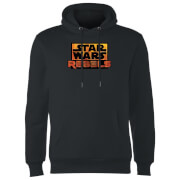 Star Wars Rebels Logo Hoodie - Black