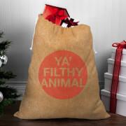 Ya' Filthy Animal Christmas Sack