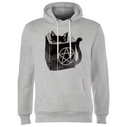 Satanicat Hoodie - Grey