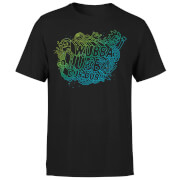 Rick and Morty Wubba Lubba Dub Dub Men's T-Shirt - Black