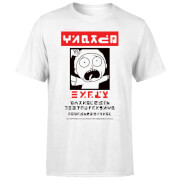 Camiseta Rick y Morty Wanted Morty - Hombre - Blanco