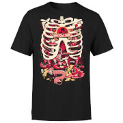 Rick and Morty Anatomy Park Men's T-Shirt - Black