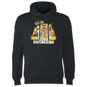 Rick and Morty Ball Fondlers Hoodie - Black