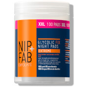 NIP+FAB Glycolic Fix Night Extreme Supersize Pads