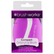 brushworks HD Compact Hair Brush
