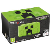 New Nintendo 2DS XL Minecraft Creeper Edition + Minecraft: New Nintendo 3DS Edition