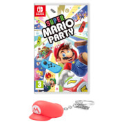 Super Mario Party + Mario Hat 3D Keyring