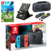 Nintendo Switch The Legend of Zelda: Breath of the Wild Pack + £30 eShop Credit