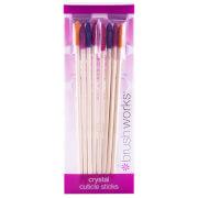 brushworks Crystal Cuticle Sticks