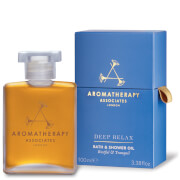 Aromatherapy Associates Deep Relax Bath & Shower Oil 100ml