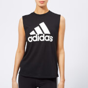adidas Women's Must Haves Badge of Sport Tank Top - Black