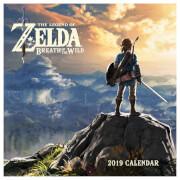 The Legend of Zelda: Breath of the Wild 2019 Calendar